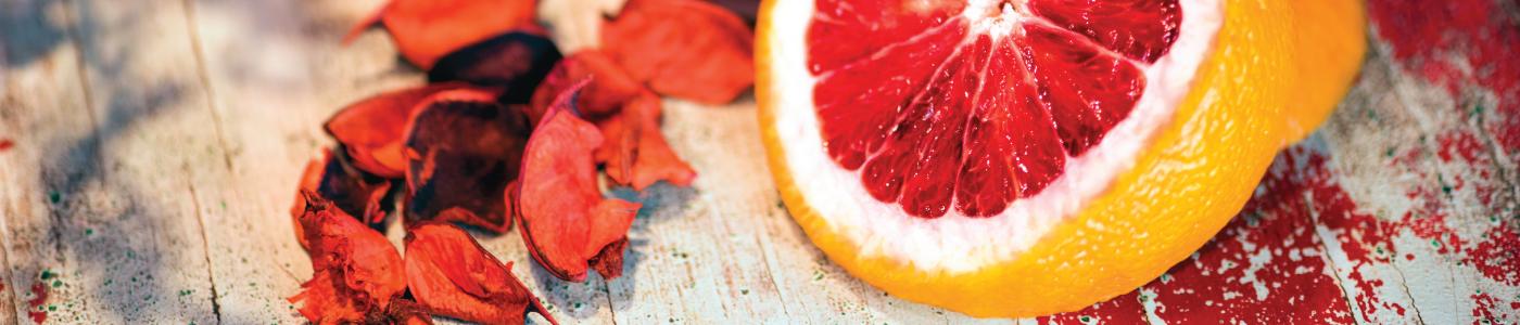 italian blood orange aromatherapeutic body oil