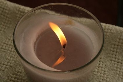 vegetable-based candle wax